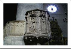 Púlpito de Juán de Colonia en Santa María la Real (Sasamón-Burgos)