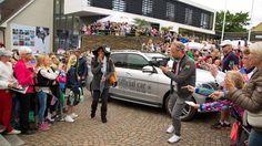 World #1 Serena Williams arrives is in Båstad. (sounds like Bow-Stod)
