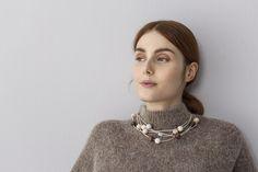 Vilkas necklace by Pauliina Aarikka. www.aarikka.com
