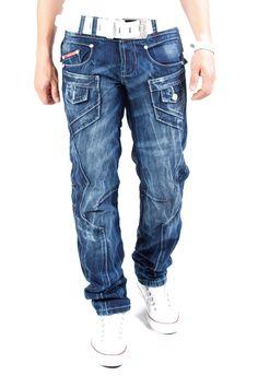 Kosmo Lupo Jeans Triple Composite Blau Km252 - 1s1h.de - www.1s1h.de/kosmo-lupo-jeans-triple-composite-blau-km252.html