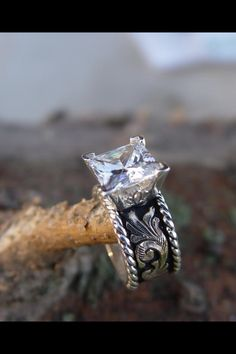 beautiful ring western engagement - Western Style Wedding Rings