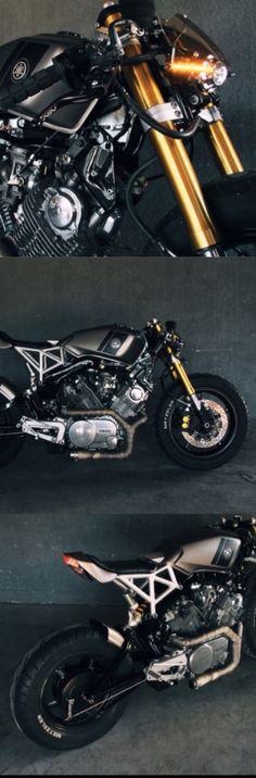 "Yamaha Virago XV920. ""Fenrir"" by Jtec moto."