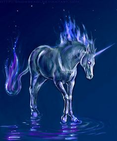 Blue Unicorn | Tales of Goldstone Wood: And Now . . . UNICORNS!!!