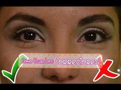 Paso a paso cómo usar los correctores de maquillaje - YouTube http://www.youtube.com/c/EntreAmigasTVWEB?sub_confirmation=1