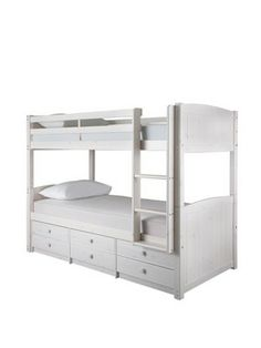 Theo Extra Long Twin Over Extra Long Twin Bunk Bed Mtn Place In