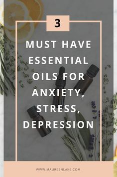 Three Must Have Essential Oils for Anxiety, Stress, Depression Depression Remedies, Insomnia Remedies, Depression Treatment, Anxiety Relief, Stress And Anxiety, Stress Relief, Meditation For Anxiety, Meditation Quotes, Essential Oils For Anxiety