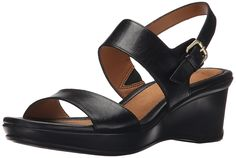 Naturalizer Women's Vibrant Wedge Sandal * Read more reviews of the product by visiting the link on the image.