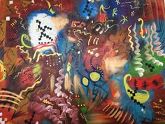 They stumble that run fast, 80x100 cm, acrylic on canvas, June 2015