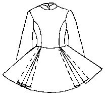 pattern for dance dresses. I might be too ambitious with this one