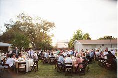 A Sweet & Relaxed, Shabby Chic Backyard Wedding - Fab You Bliss Wedding Decorations, Wedding Ideas, Tent Wedding, Marry Me, Dolores Park, Shabby Chic, Backyard, Ps, Bliss