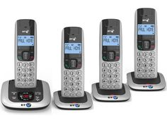 BT 3520 Quad Digital Cordless Phone with Answer Machine