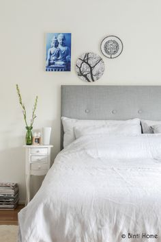 Binti Home Blog: Stylish christmas at Accessorize your Home #bedroom #danishstyle #greybed #bedcover