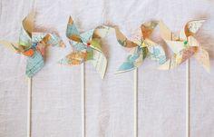Map pinwheels!