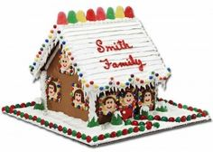 Gingerbread House Ideas.