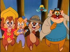 Chip 'n Dale Rescue Rangers [1989-1990]