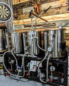 Home Brewery, Beer Brewery, Home Brewing Beer, Brewing Recipes, Homebrew Recipes, Beer Recipes, Home Brewing Equipment, Food Truck Design, More Beer