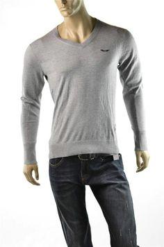 #Armani Exchange #Sweater Mens A/X Logo V Neck Pullover Jumper Sz S Tshirt NWT $98