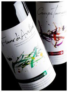 Le Masciare Italy Wine Label by Labdiseño Chile, via Behance  #taninotanino #vinosmaximum
