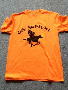 Camp HalfBlood Tshirt from the Percy Jackson by Thingsofyourfancy