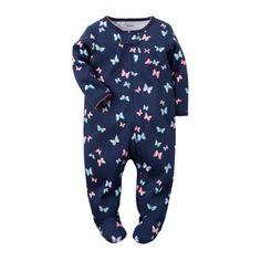 Carter's® Butterfly Sleep & Play - Baby Girls newborn-9m - JCPenney