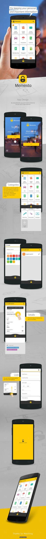 Memento_App Design on Behance