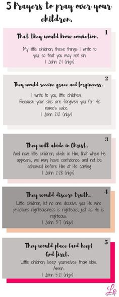 Have you ever struggled with knowing what to pray for your children? I'll admit its frustrating. Thank goodness I found some direction!