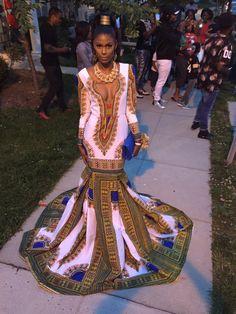 Blue and white African women& dress, Dashiki dress, bespoke dashiki dress, African wo… – African Fashion Dresses African Prom Dresses, African Wedding Dress, African Dresses For Women, African Attire, African Wear, African Fashion Dresses, African Women, Ghanaian Fashion, African Style