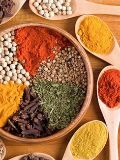 Surprising Healing Benefits of Spices. Or is it a surprise? Spices have been used for centuries for their benefits as well as taste. :)