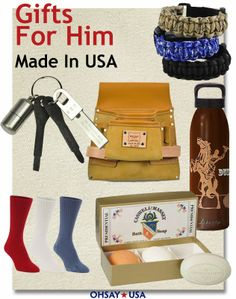 Gifts For Him - Made in America