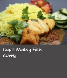 """Cape Malay fish curry   Hazel McBride shares the fragrant and spicy world of South African food in her recipe for Cape Malay fish curry. While you can substitute the rock ling or hake with any firm white-fleshed fish fillets, Hazel cautions against adding ginger as her mother says """"it breaks the fish""""."""