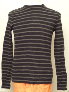 #sale VINCE men size S  cotton sweater stripes crewneck retail $120 withing our EBAY store at  http://stores.ebay.com/esquirestore