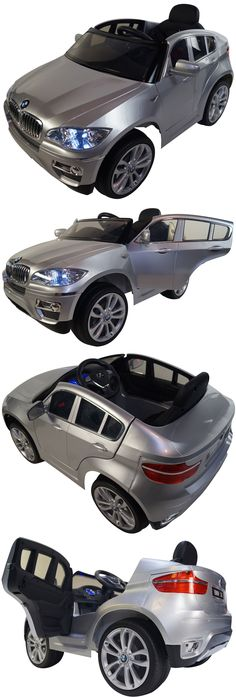 Toy Vehicles 145946: Bmw X6 Style 12V Battery Powered Electric Ride On Kids Toy Car Remote Rc Silver -> BUY IT NOW ONLY: $389 on eBay!