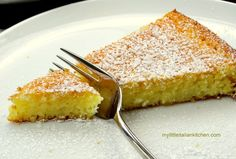 lemon coconut cake slice