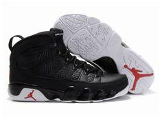 eb568b5d0929b5 Air Jordan Retro 9 Shoes Black White