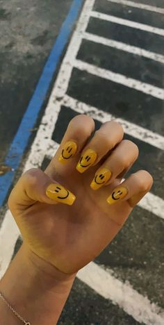 inspired by my whole 🤍, harry styles had these nails in the beginning of december Acrylic Nails Coffin Short, Summer Acrylic Nails, Best Acrylic Nails, Cute Acrylic Nail Designs, Nail Swag, One Direction Nails, Hippie Nails, Acylic Nails, Fire Nails