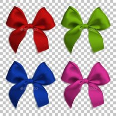 Buy Realistic Bows and Ribbon Isolated by irkus on GraphicRiver. Realistic bows and ribbon isolated on transparent background. Preschool Newsletter Templates, Christmas Cards, Christmas Decorations, Red Ribbon, Greeting Cards, Presents, Bows, Graphic Design, Birthday