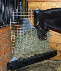 slow down hay feeder