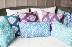 OMG.......I want all these gorgeous pillows!!!