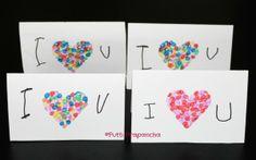 I heart U cards