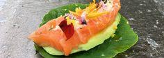 Zalm Avocado Oost-Indische kers