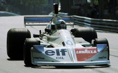 Lella Lombardi at Montjuic, 1975. First F1 points result for a female driver.
