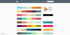 Les ressources web du lundi #66 - inspiration-webdesign #colors