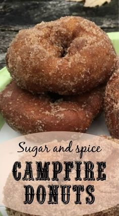 With sugar and spice and everything nice, these campfire donuts are sure to delight your fellow campers on your next camping trip. meals for camping Campfire donuts for your next campout Dutch Oven Cooking, Cast Iron Cooking, Dutch Oven Desserts, Camping Meals, Tent Camping, Camping Hacks, Camping Cooking, Camping Checklist, Camping Essentials