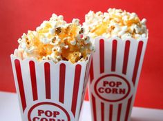 Healthy after school snacks - including the fabulous cheesy popcorn
