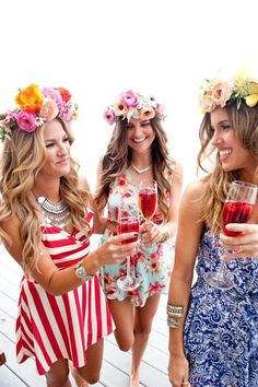 Flower crowns and co