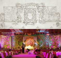 Arabic wedding decoration