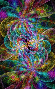 Rainbow everything…. Rainbow everything…. Fractal Images, Fractal Art, Kaleidoscope Art, Free Iphone Wallpaper, Iphone Wallpapers, Fractal Design, Hippie Art, Visionary Art, Psychedelic Art