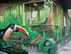 Graffiti, Athens, Explore, Pets, Wall, Nature, Painting, Animals, Design