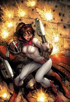Kitty and Starlord -Guardians of the Galaxy #6