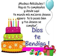38 Ideas For Quotes Christian Birthday Spanish Birthday Wishes, Happy Birthday Ecard, Happy Birthday Video, Happy Birthday Wishes Cards, Happy Birthday Pictures, Birthday Cards, Happy B Day, Google, Feliz Compleanos